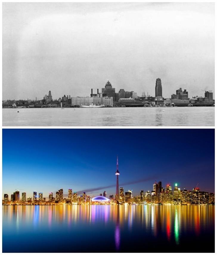 Toronto-Canada-1930-vs.-now