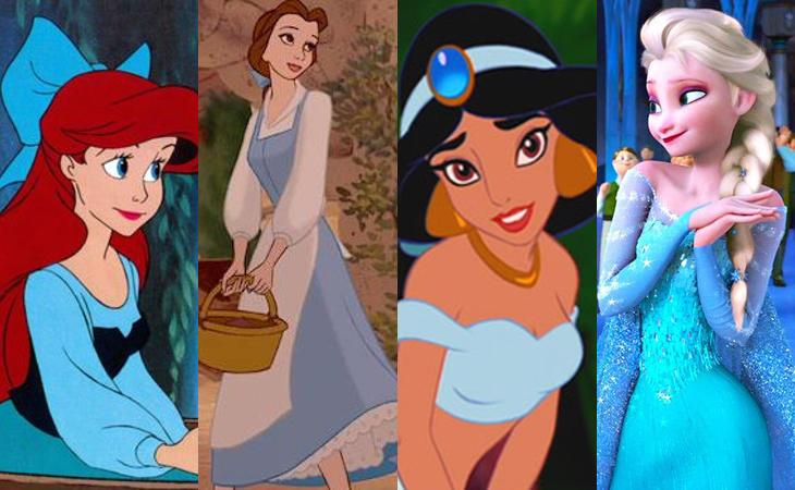 Esta es la razón por la que todas las princesas Disney