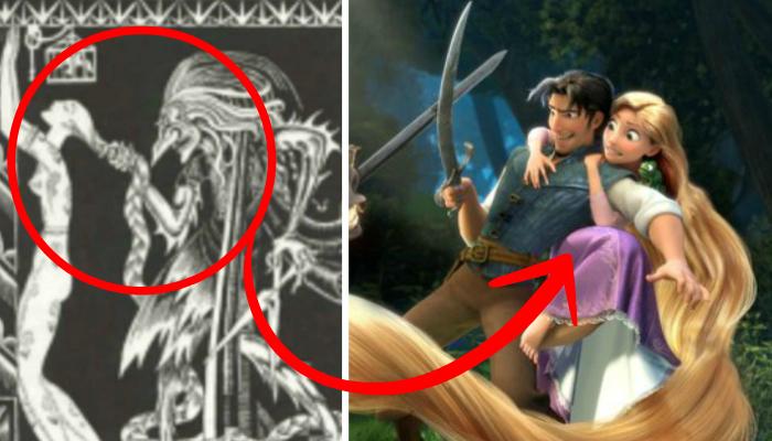 La Verdadera Historia De Walt Disney Sus Dibujos Y: La Verdadera Historia De Rapunzel Es Mucho PEOR De Lo Que