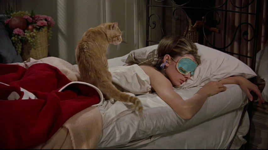 desayuno-en-tiffanys-acostada-con-gato