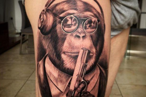 Futbolistas con los peores tatuajes. El #2 es una pesadilla