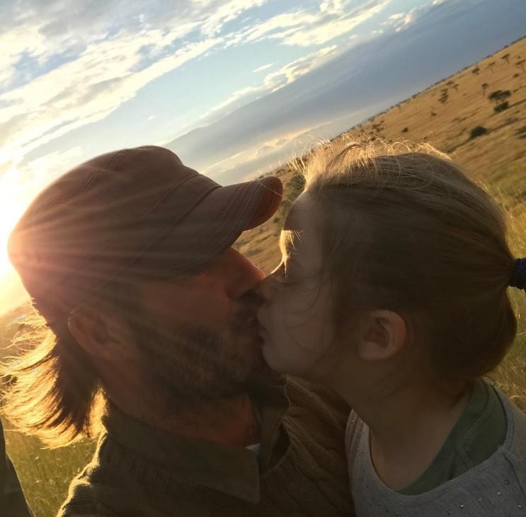 david-beckham-besando-a-su-hija