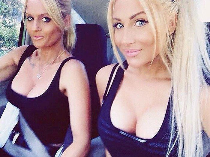 , 25 impresionantes mamás que parecen hermanas de sus hijas