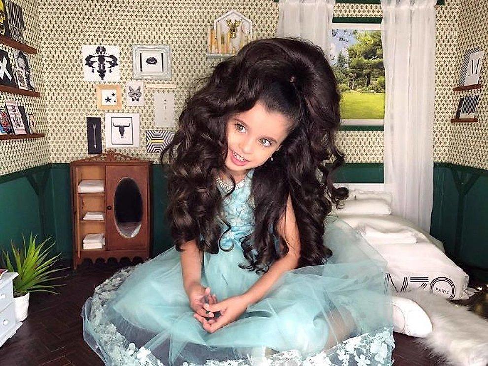 Foto viral tiene 5 a os y es una celebridad en instagram - Diva futura su sky ...