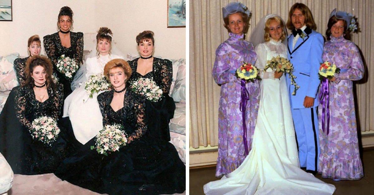 20 vestidos de damas de honor que parecen sacados de una película de