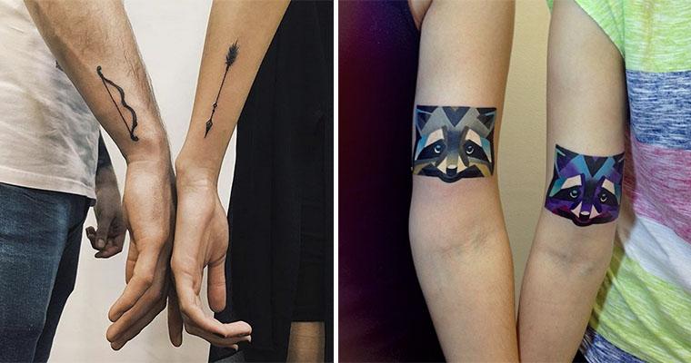 27 Tatuajes Increíbles Que Unieron A Dos Personas Para Siempre