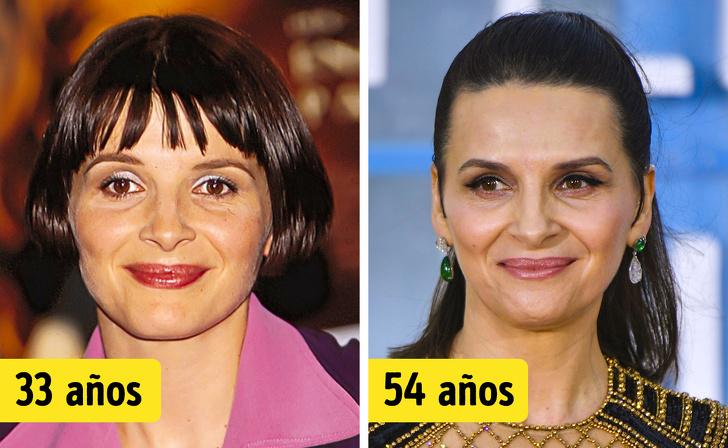 19Famosas mujeres mayores de50años que nunca sehan hecho una cirugía plástica