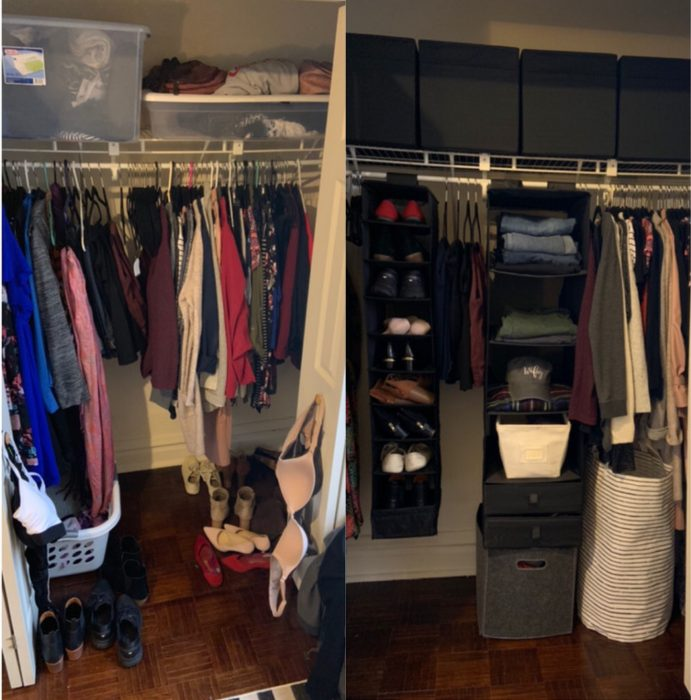 28 Imágenes antes y después de habitaciones desordenadas que harán feliz a tu señora interior