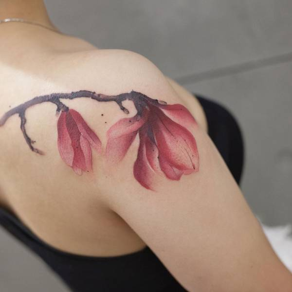 28 Tattoos with watercolor effects that are the coolest thing you'll see today 16