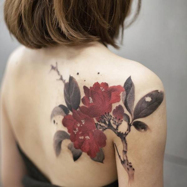 28 Tattoos with watercolor effects that are the coolest thing you'll see today 21
