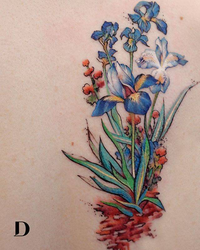 28 Tattoos with watercolor effects that are the coolest thing you'll see today 12